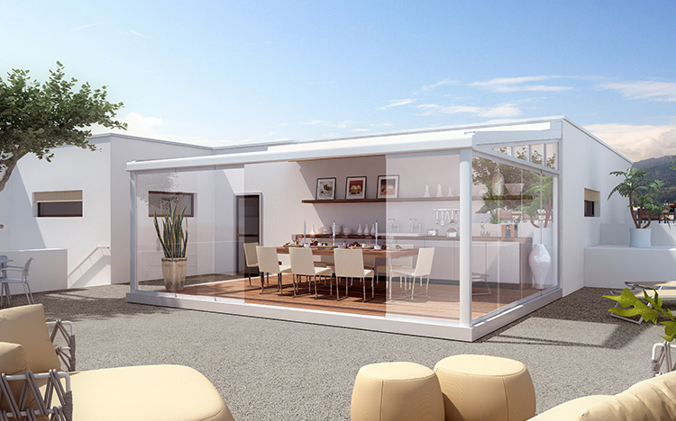 Transformez n'importe quelle terrasse en grande pièce extérieure au design élégant.
