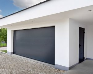 Porte de garage sectinelle - Idéal Volets